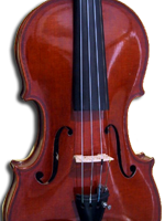 Violine Ansicht front
